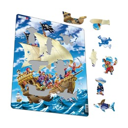 Пазл Пираты, 30 деталей