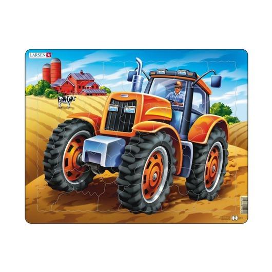 Пазл Трактор, 37 деталей