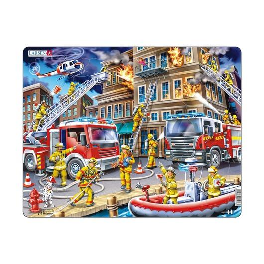 Пазл Пожарные, 45 деталей