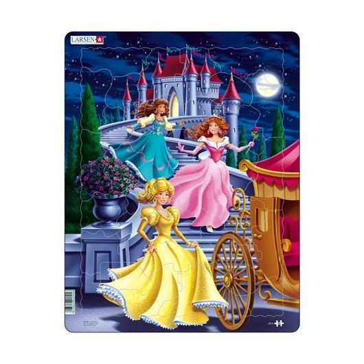 Пазл Принцессы, 35 деталей