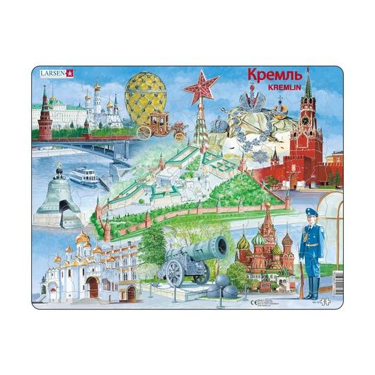 Пазл Кремль, 61 деталь