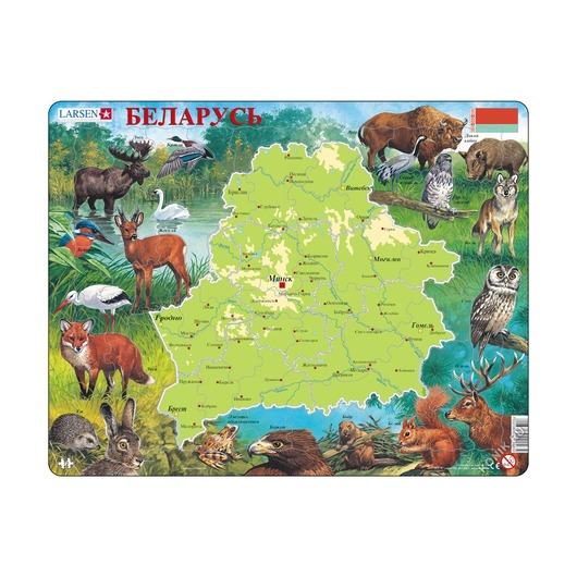 Пазл Беларусь, 72 детали