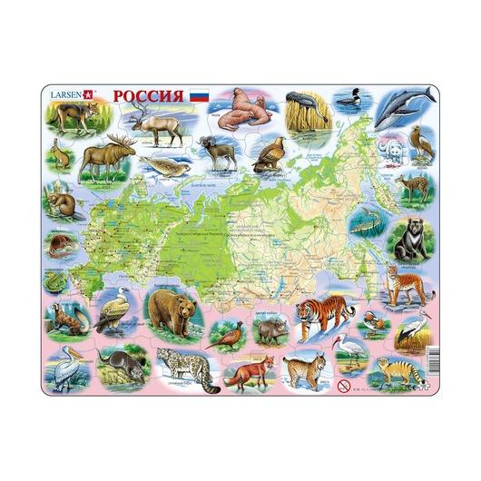 Пазл Россия (русский), 100 деталей