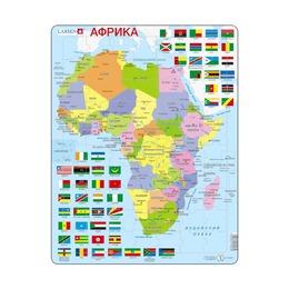 Пазл Африка (русский), 70 деталей