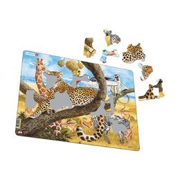 Пазл Леопард, 48 деталей