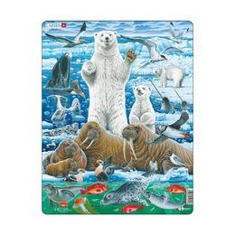 Пазл Полярный медведь, 46 деталей