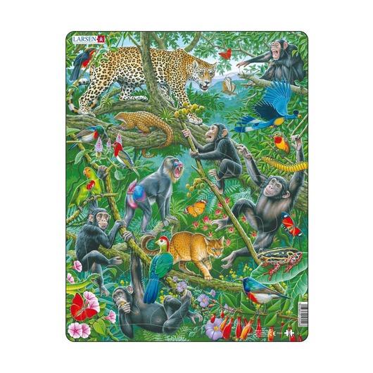 Пазл Африканские тропики, 32 детали