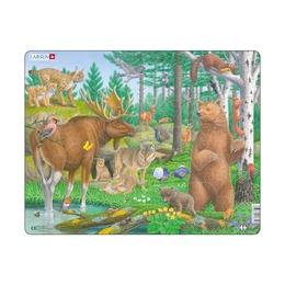Пазл Лесные животные, 29 деталей