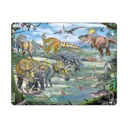 Пазл Динозавры, 65 деталей