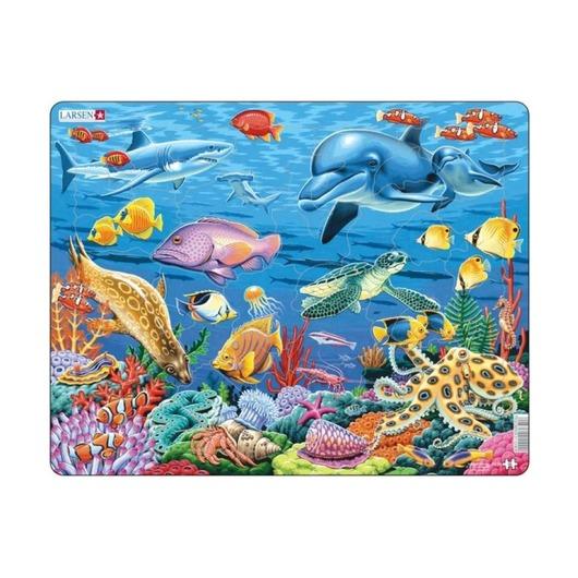 Пазл Коралловый риф, 35 деталей