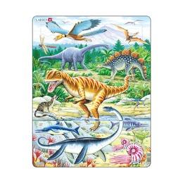 Пазл Динозавры, 35 деталей