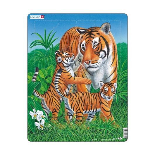 Пазл Тигр, 23 детали