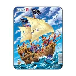 Пазл Пираты, 8 деталей