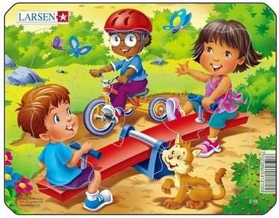 Пазл Детская площадка, 7 деталей