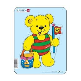 Пазл Медвежата с мороженым, 5 деталей