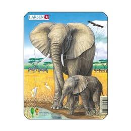 Пазл Слон, 8 деталей