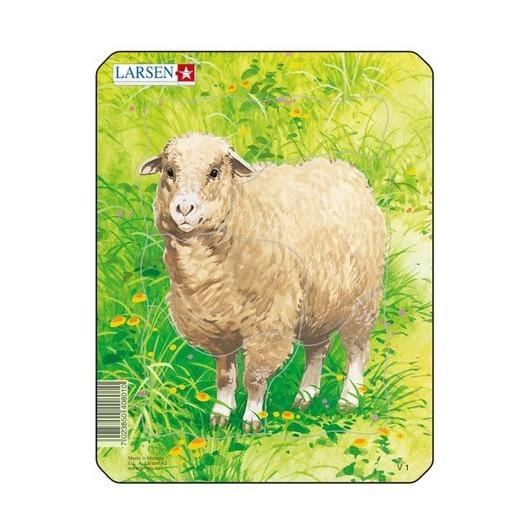 Пазл Рисунок овцы, 5 деталей