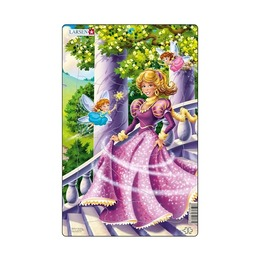 Пазл Волшебная принцесса, 11 деталей
