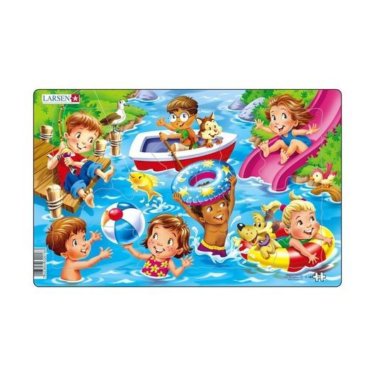 Пазл Дети на море, 11 деталей