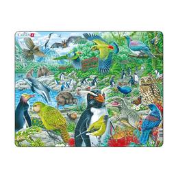 Пазл Животные Новой Зеландии, русский, 53 детали