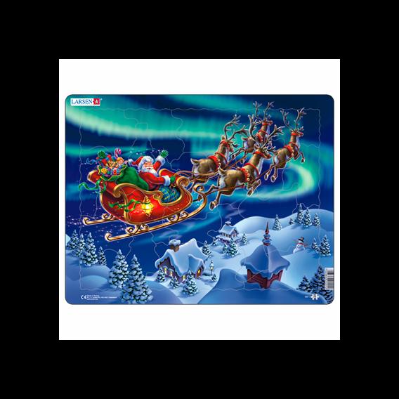 Пазл Санта-Клаус, 26 деталей