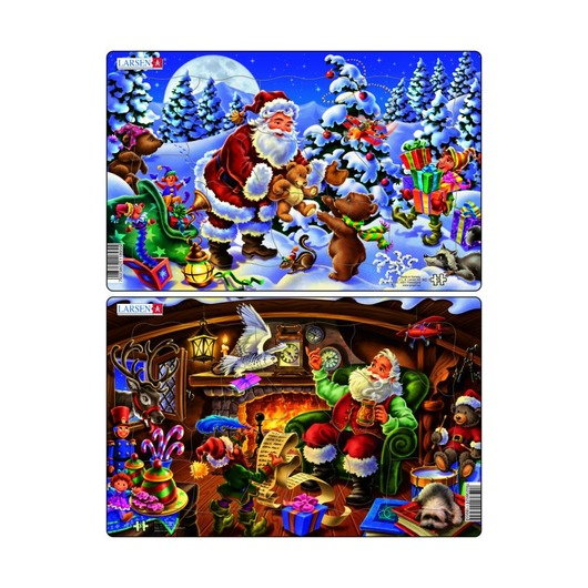Пазл Санта-Клаус