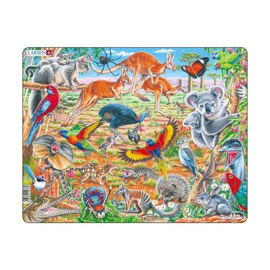Дикие животные Австралии, 60 деталей