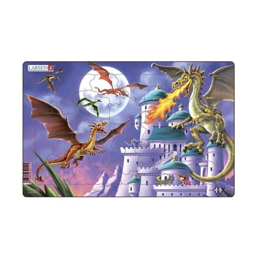 Драконы у замка, 28 деталей