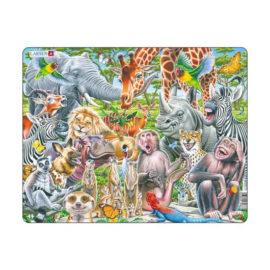 Счастливые животные Африки, 43 детали